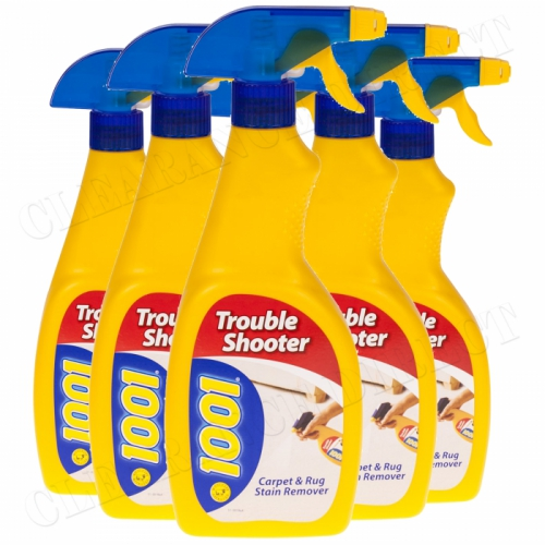 1001 Troubleshooter Carpet & Rug Stain Remover 500ml x 6 Woolsafe approved