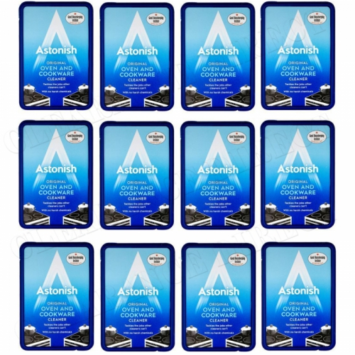 12 x Astonish Oven & Cookware Cleaner Cleaning Paste 150g No Harsh Chemicals