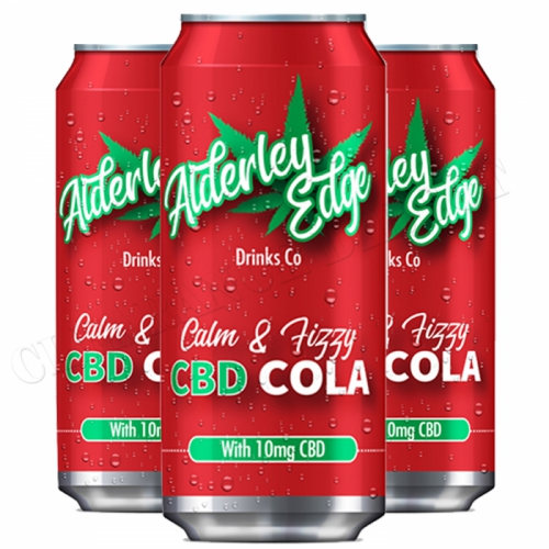 3 X ALDERLEY EDGE DRINKS CO CALM & FIZZY CBD COLA 250ML