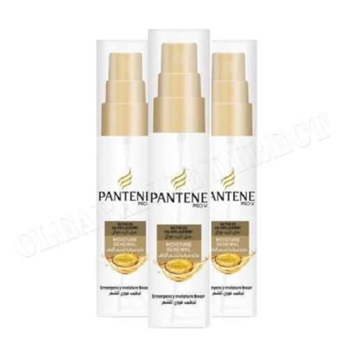 3 x 75 ml Pantene ProV Oil Replacement On The Go Emergency Moisture Boost