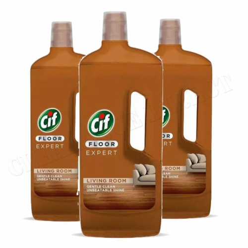 3 x NEW CIF FLOOR EXPERT LIVING ROOM UNBEATABLE SHINE 750ml