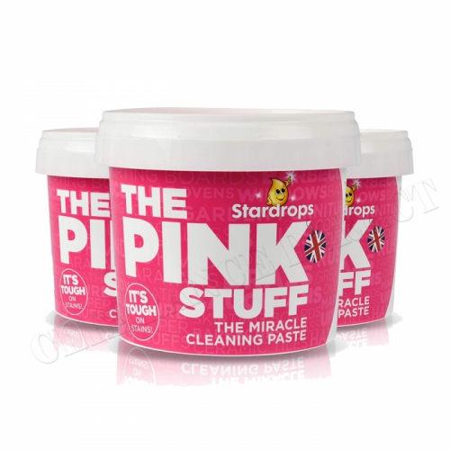 3 x THE PINK STUFF / CHEMICO MIRACLE PASTE 500g STARDROPS NEW PACK SAME PRODUCT