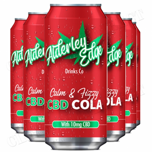 6 X ALDERLEY EDGE DRINKS CO CALM & FIZZY CBD COLA 250ML
