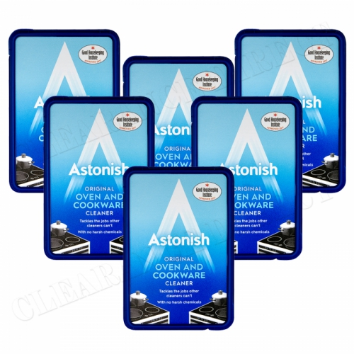 6 x Astonish Oven & Cookware Cleaner Cleaning Paste 150g No Harsh Chemicals