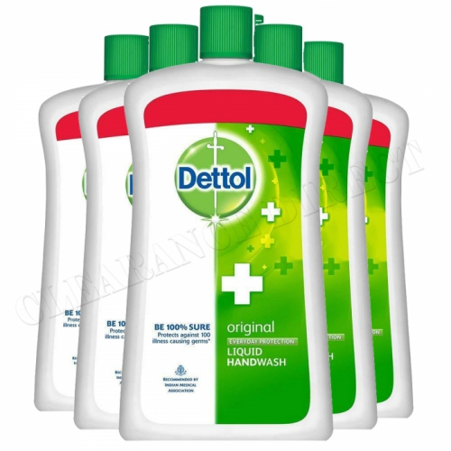 6 x DETTOL ORIGINAL 900ml LIQUID HAND WASH EXTRA LARGE EVERYDAY PROTECTION