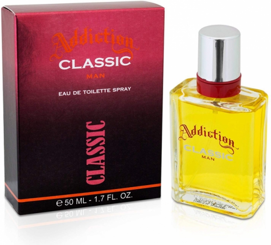 ADDICTION CLASSIC MEN EAU DE TOILETTE SPRAY 50ML