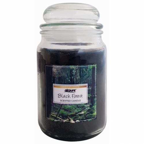 AIRPURE CANDLE BLACK FOREST IDEAL GIFT 510g 75-90hr BURN TIME