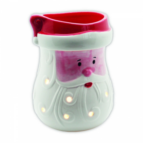 AIRPURE WAX BURNER FATHER CHRISTMAS SANTA ELECTRIC WAX TART WARMER BACK LIGHT