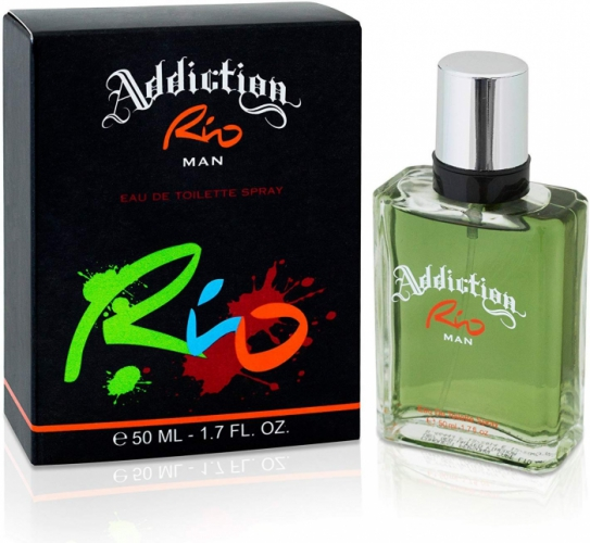 Addiction RIO Man Eau De Toilette Spray 50ml Men's Fragrance