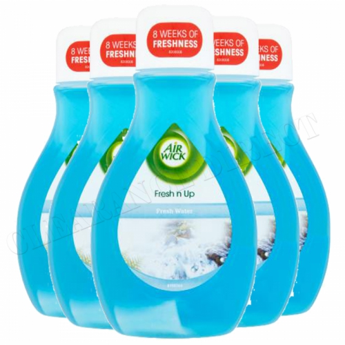 Air Wick Fresh Waters Fresh n Up Air Freshener Fragrance 375ml NEW x 6