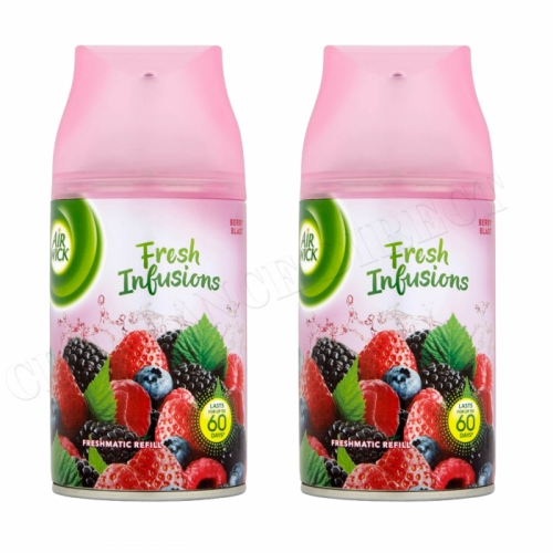 Air Wick Freshmatic Automatic Spray Refill - 2 x Berry Blast 250ml Mega Pack