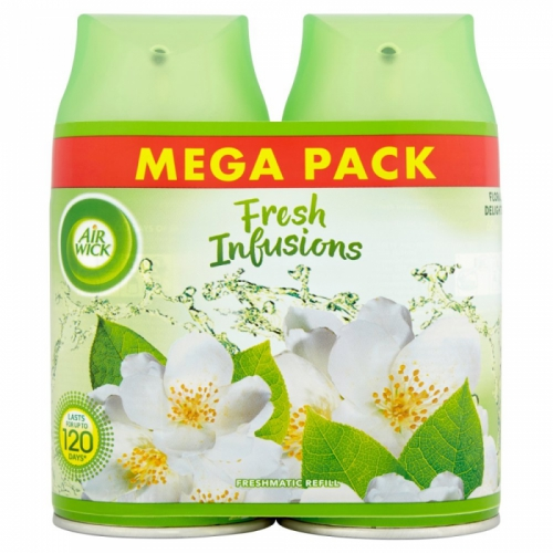 Air Wick Freshmatic Fresh Infusions Refill Floral Delights 250ml x 2