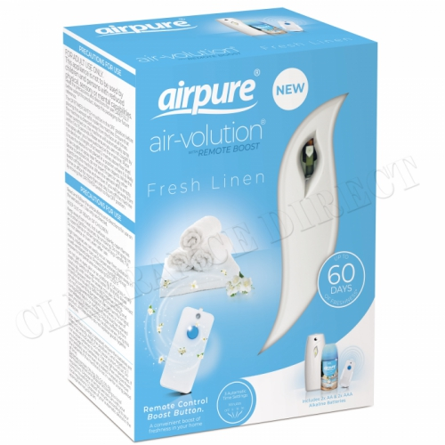 Airpure Freshmatic Air Volution With Remote Boost Control Plus Fresh Line Refill