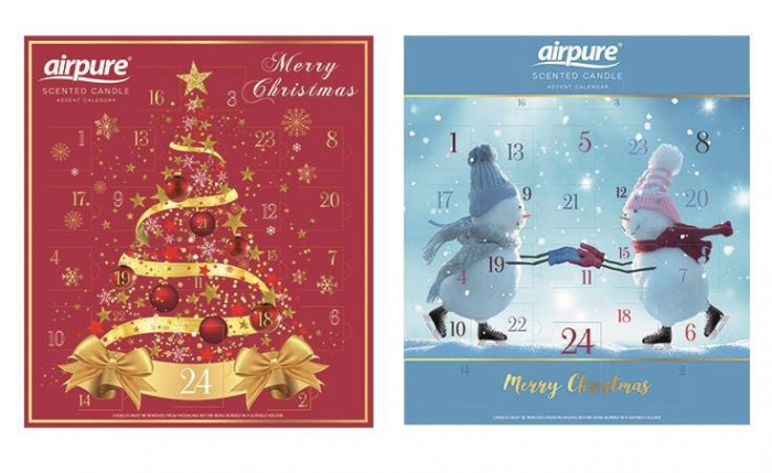 Airpure Scented Candle Advent Calendar Luxury Advent Calendar Christmas x 2