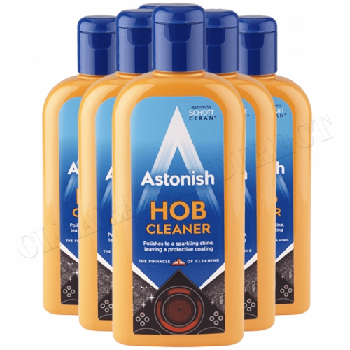 Astonish Hob Cream Appliance Kitchen Cleaner Home Household 235ml Ceramic x 6