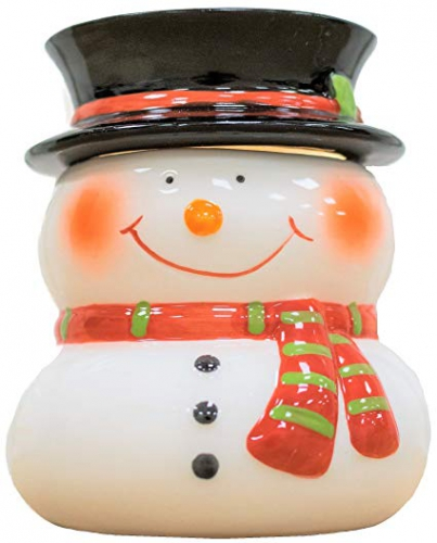 CHRISTMAS ELECTRIC LAMP WAX MELT TART BURNER WARMER FROSTIE THE SNOWMAN AIRPURE