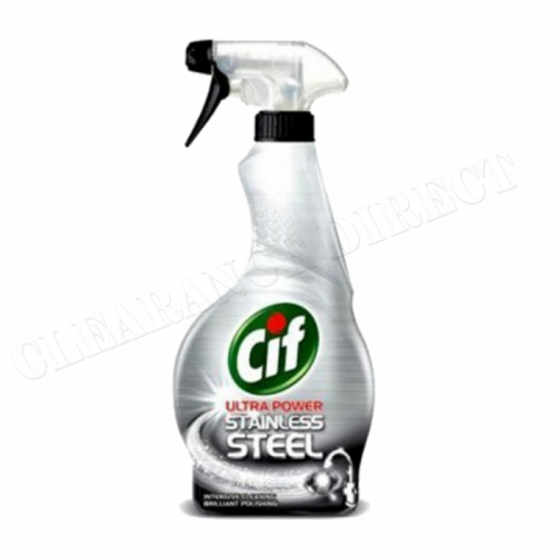 Cif Stainless Steel Cleaner 450 ml Trigger Spray