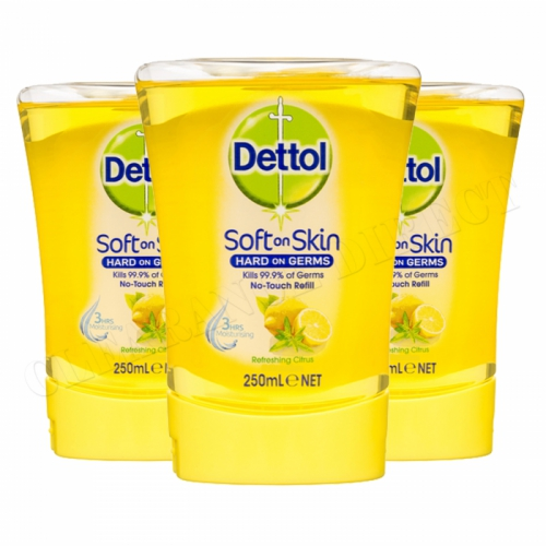 Dettol No Touch Handwash Refill Citrus 3 x 250ml