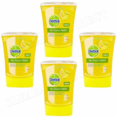 Dettol No Touch Handwash Refill Citrus 4 x 250 ml