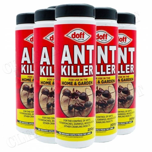 Doff Ant Killer Controls Ants, Cockroaches, Earwigs & More 200g x 6