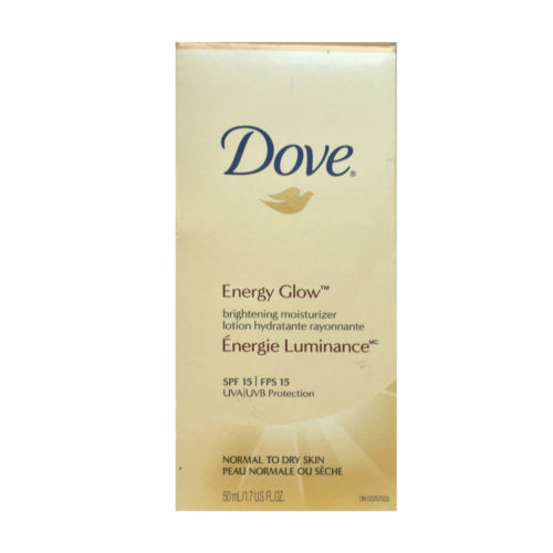 Dove Energy Glow Brightening Moisturizer Lotion Normal To Dry Skin 50ml spf 15