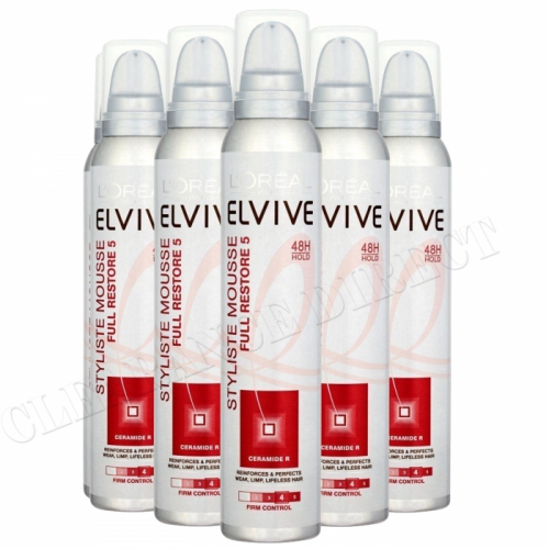 L'Oreal Paris Elvive Styliste Mousse Full Restore with ceramide R 200ml x 6