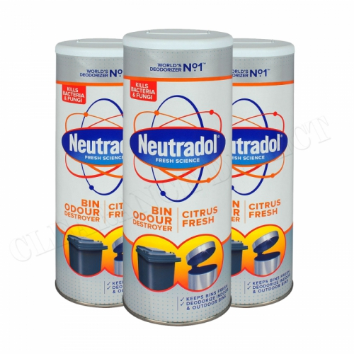 Neutradol Dustbin Odour Destroyer 350g x 3 packs