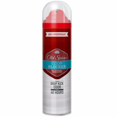 OLD SPICE ODOR BLOCKER ANTI-PERSPIRANT DEODORANT SPRAY 125ML FREE POSTAGE