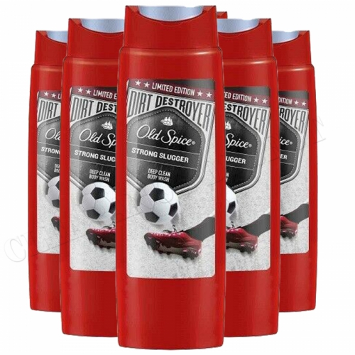 OLD SPICE STRONG SLUGGER SHOWER GEL LIMITED EDTION 250ML X 6