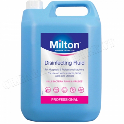 P&G Professional Milton Disinfecting Liquid Cleaner - 1x5ltr