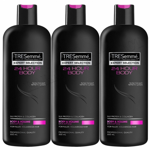 TRESemme 24 Hour Body Volume Professional Quality Shampoo 500ml x 3