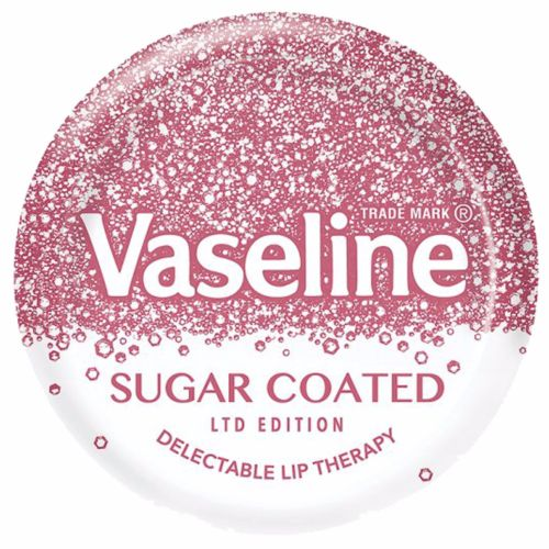 Vaseline Lip Therapy Sugar Coated Lip Balm Smooth PInk Tint Ltd FREE POSTAGE